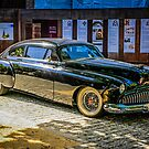Black 1950s Custom American Car by chris-csfotobiz