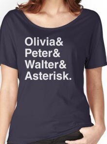 Fringe Benefits Shirt Women's Relaxed Fit T-Shirt