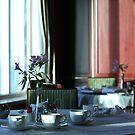 Afternoon tea onboard by twinnieE