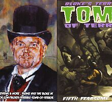 TOMB OF TERROR #5 (FRONT / BACK covers) by Graham Hill