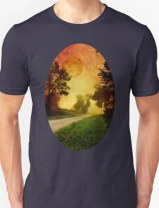 Starry Night Landscape T-Shirt