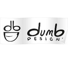 dumb Logo Poster