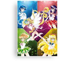 Eternal Inner Senshi Canvas Print