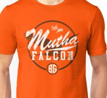 Mutha Falcon BG - alternate Unisex T-Shirt