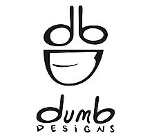dumb Logo and Type Photographic Print