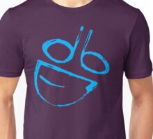 Painted dumb logo Blue Unisex T-Shirt