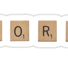 WORD Sticker