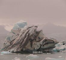 Iceland: Iceberg on Jökulsárlón by Curlyf