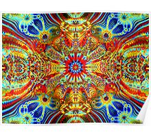 Cosmic Creatrip2 - Psychedelic trippy visuals Poster