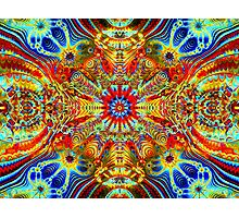 Cosmic Creatrip2 - Psychedelic trippy visuals Photographic Print