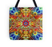 Cosmic Creatrip2 - Psychedelic trippy visuals Tote Bag