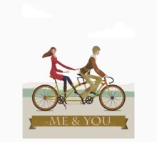 Me & You Bike Kids Tee