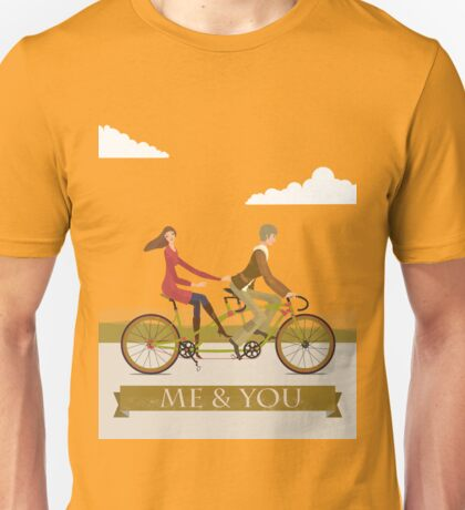 Me & You Bike Unisex T-Shirt