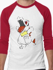 Totodile - Pokemon Men's Baseball ¾ T-Shirt
