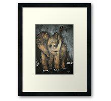Baby Elephant 3 Framed Print