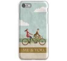 Me & You Bike iPhone Case/Skin