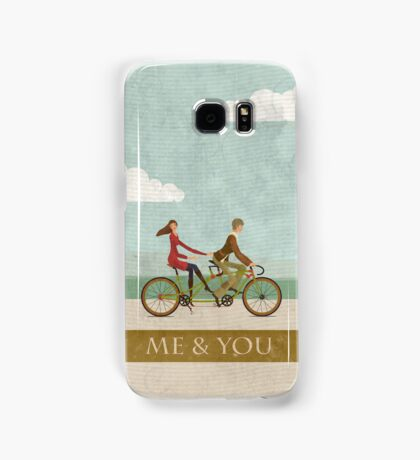 Me & You Bike Samsung Galaxy Case/Skin