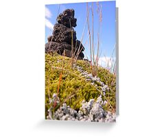 Iceland: Cairn Greeting Card
