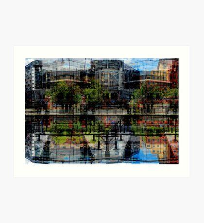 canal side (3)a Art Print