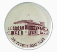 Vintage Detroit Boat Club ca. 1900 by The Detroit Room