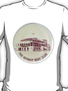 Vintage Detroit Boat Club ca. 1900 T-Shirt
