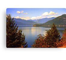 Beautiful British Columbia, Canada Canvas Print