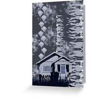 Is it a Drawing?-Kelp, House, Rays Greeting Card