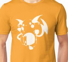 Raichu White Unisex T-Shirt