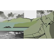Is it a Drawing?-Coast Photographic Print