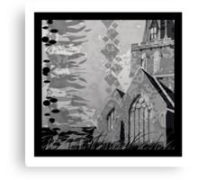 Is it a Drawing?-Kelp, Church, Rays Canvas Print