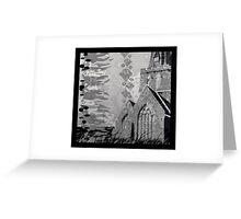 Is it a Drawing?-Kelp, Church, Rays Greeting Card