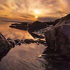 California Sunset  by donnarebecca