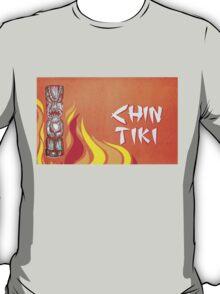Vintage Detroit Chin Tiki Menu Cover T-Shirt