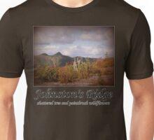 shattered tree & paintbrush wildflowers on Johnston's Ridge Unisex T-Shirt