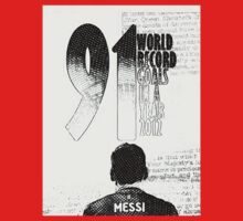 Lionel Messi Goal Record 2012 Kids Tee