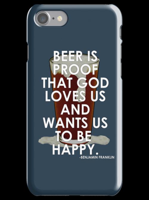 Ben Franklin on Beer by uncmfrtbleyeti