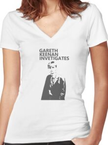 The Office - Gareth Women's Fitted V-Neck T-Shirt