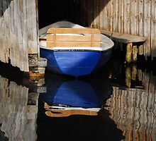 Boating Reflections by Kasia-D