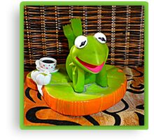 Kermit the Frog Canvas Print