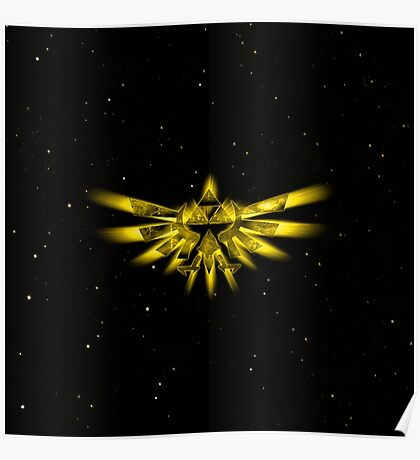 Triforce Star Poster