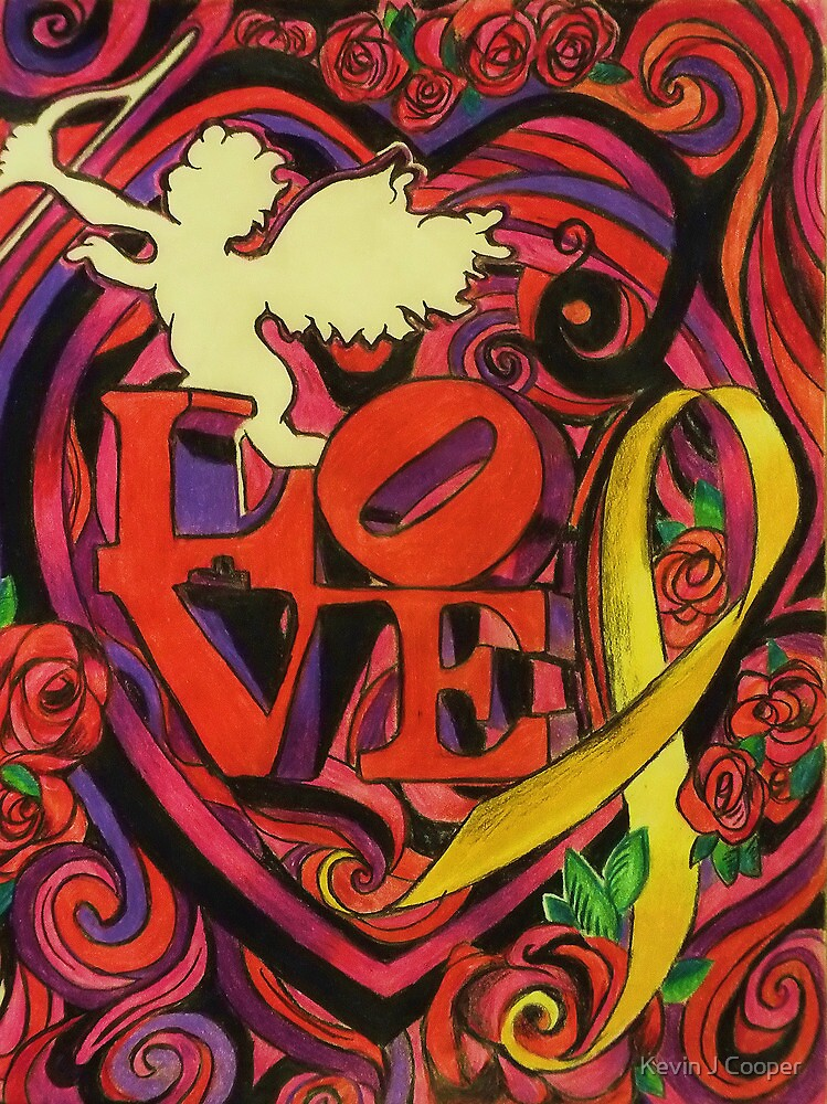 """""""Love and Liberty""""  A Valentines Card Fundraiser to benefit our veterans by Kevin J Cooper"""