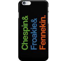 Chespin & Froakie & Fennekin. iPhone Case/Skin