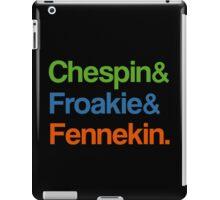 Chespin & Froakie & Fennekin. iPad Case/Skin