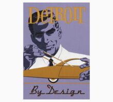 Vintage Detroit Design  T-Shirt