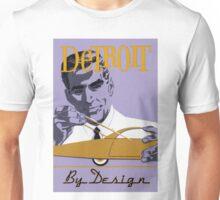 Vintage Detroit Design  Unisex T-Shirt