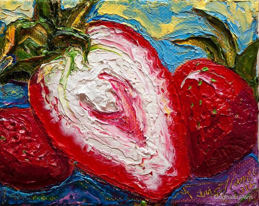 Red Strawberries by OriginalbyParis