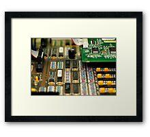 Motherboard Framed Print