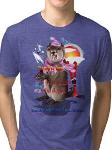 Groundhog Day-6 more weeks Tri-blend T-Shirt