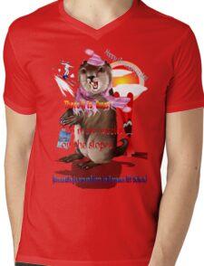 Groundhog Day-6 more weeks Mens V-Neck T-Shirt