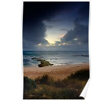 Dramatic Light At Koonya Beach Poster